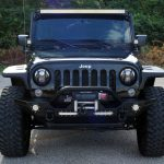 black 2014 jeep wrangler unlimited jk front angle