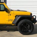 2020 Yellow JL Jeep