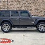 2020 Granite Gray JL Jeep side angle
