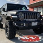 """2019 Granite Crystal JL Jeep 3"""" zone lift right front angle"""