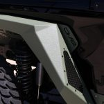 2020 Black and Green JL Jeep DV8 Armor fenders front