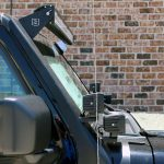 2020 Black and Green JL Jeep Zroadz Light Bar bracket