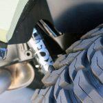 2020 Black and Green JL Jeep FOX shocks Rear