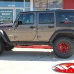 2019 Sting Gray Rubicon JL Jeep side angle