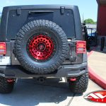 2019 Sting Gray Rubicon JL Jeep back angle
