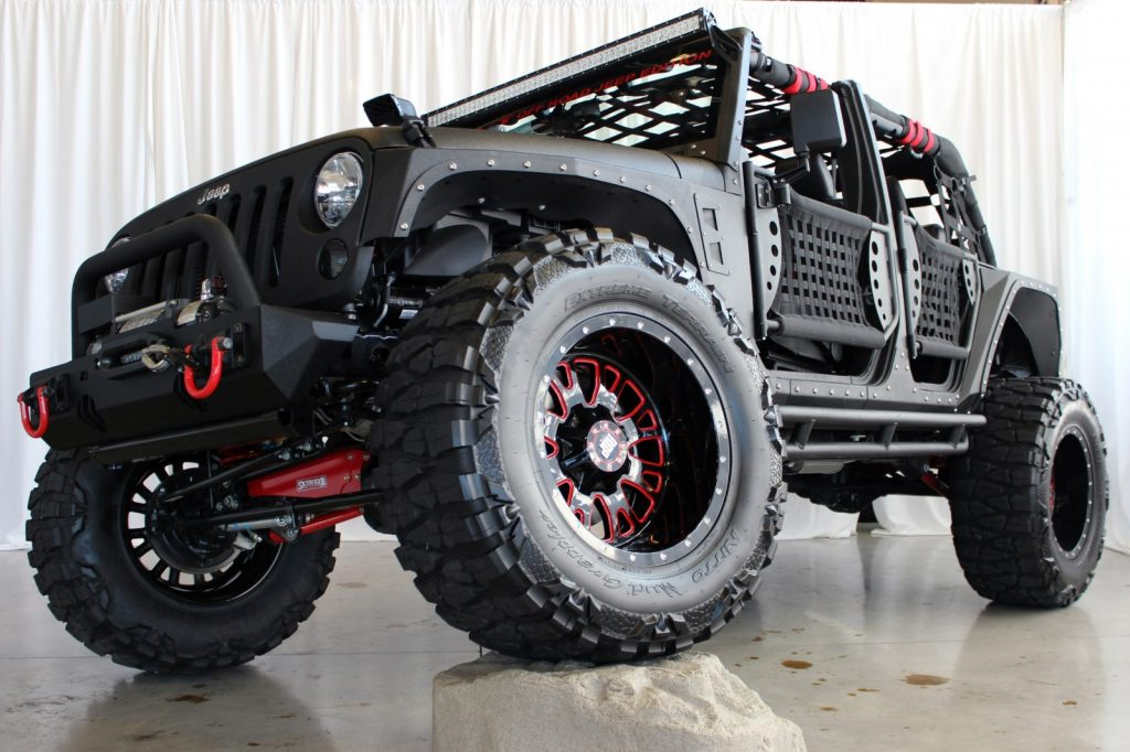 2014 Ultimate Black Kevlar® JK Jeep Build