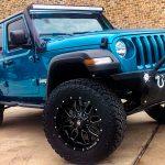 2019 Aqua Green JL Jeep