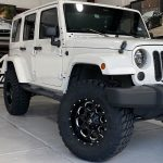 2016 Bright White Sahara JK Jeep