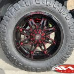 "2020 Deadpool Rubicon JL 3.5″ lift custom powder coated coil springs 20×10 Ballistic 963 ""Gladiator"" wheels 35 Nitto tires"