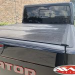2020 Black Rubicon JT Gladiator Undercover Flex tonneau cover