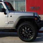 2016 Silver Sport JK Jeep