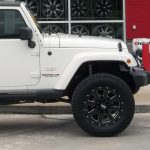 2014 White Sport JK Jeep