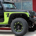 2018 Green and Black Sport JK Jeep