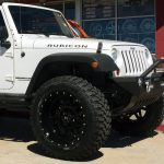 2016 White Rubicon JK Jeep