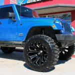 2017 Polar Blue Sport JK Jeep
