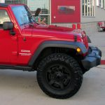 2017 Red Sport JK Jeep