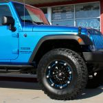 2017 Blue Sport JK Jeep