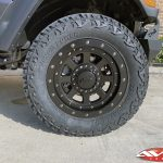 """2020 Jeep JL wrangler 2.5"""" Lift DV8 Front bumper with winch 20x9 XD """"FMJ"""" 35"""" A/T tire Nfab side steps"""