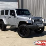 """2012 Jeep JK sahara 4″ Rough Country lift 20"""" Fuel Offroad """"Coupler"""" wheels in gloss black 35"""" Toyo Open Country A/T II tires"""