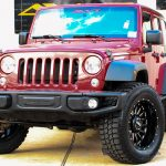 2016 Red Sport JK Jeep
