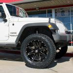 2017 White Sport JK Jeep