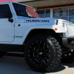 2018 White Rubicon II JK Jeep