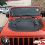 2020 Punk'n Orange JL Jeep Custom side and hood graphic
