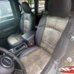2020 Green Bronze JL Jeep Custom leather seats crocodile pattern