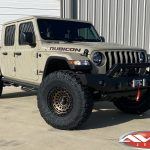 "2.5"" Rough Country Suspension Lift 17x9 Fuel Offroad D634 ""Zephyr"" wheels matte bronze 37"" Milestar Patagonia M/T tires"
