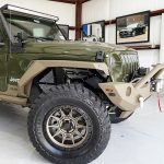 2020 Green and Bronze JL Jeep