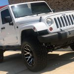 2017 White Sport II JK Jeep