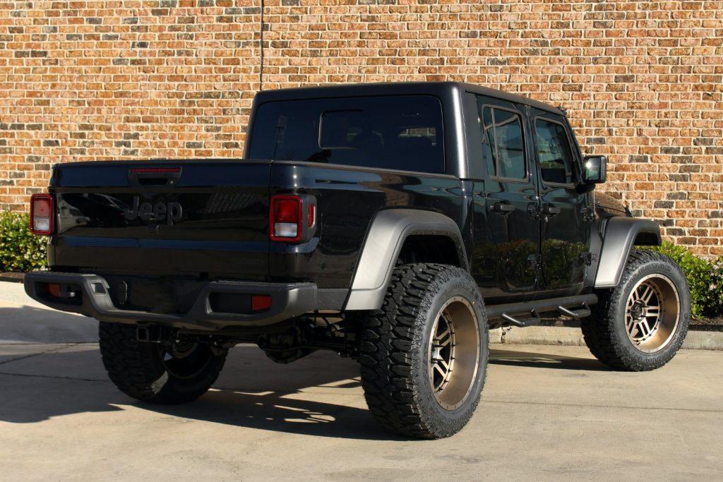 2020 black & bronze jt gladiator build   awt jeep edition