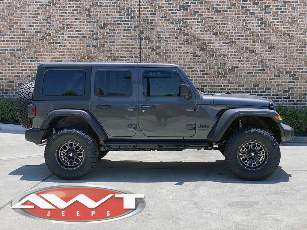 2020 gray jl jeep build | awt jeep edition