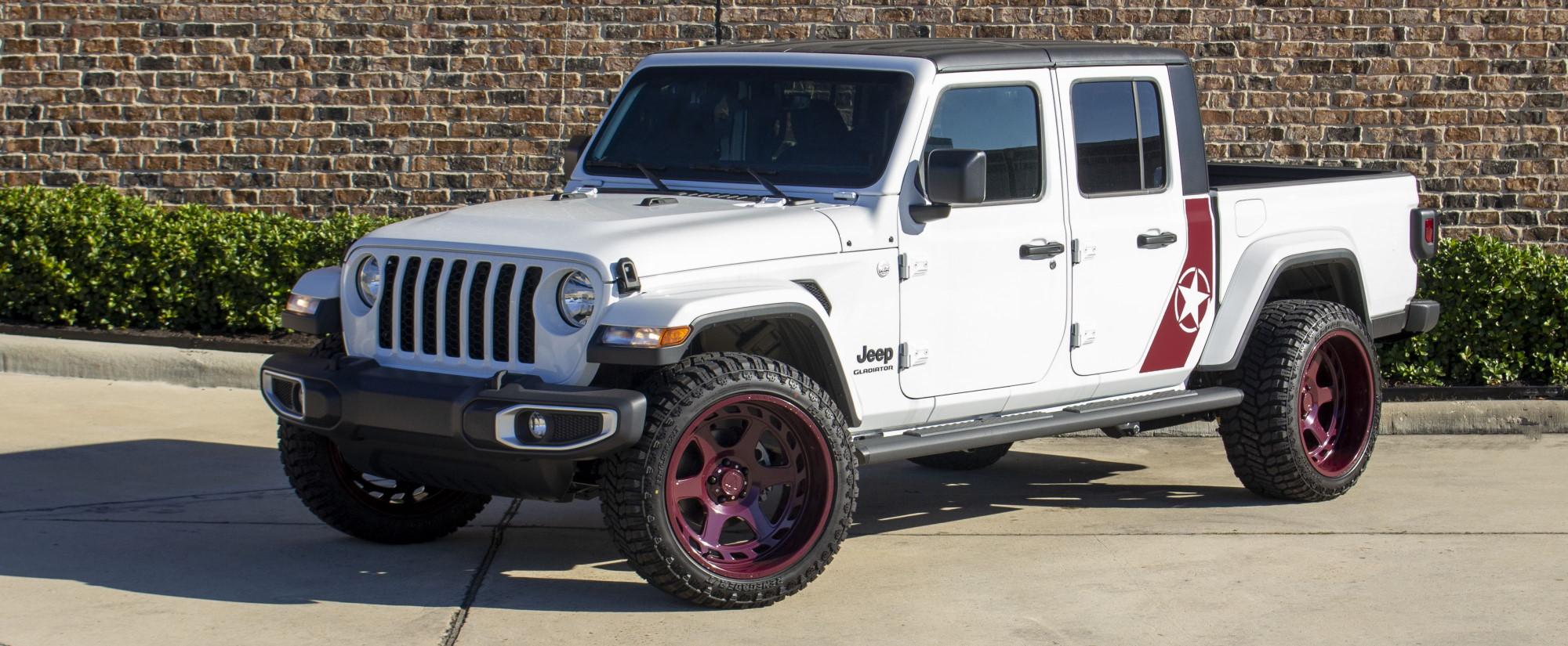 2020 white sport jt gladiator iii build   awt jeep edition