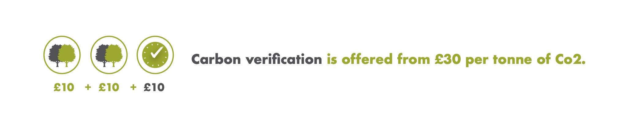 Verification disclaimer