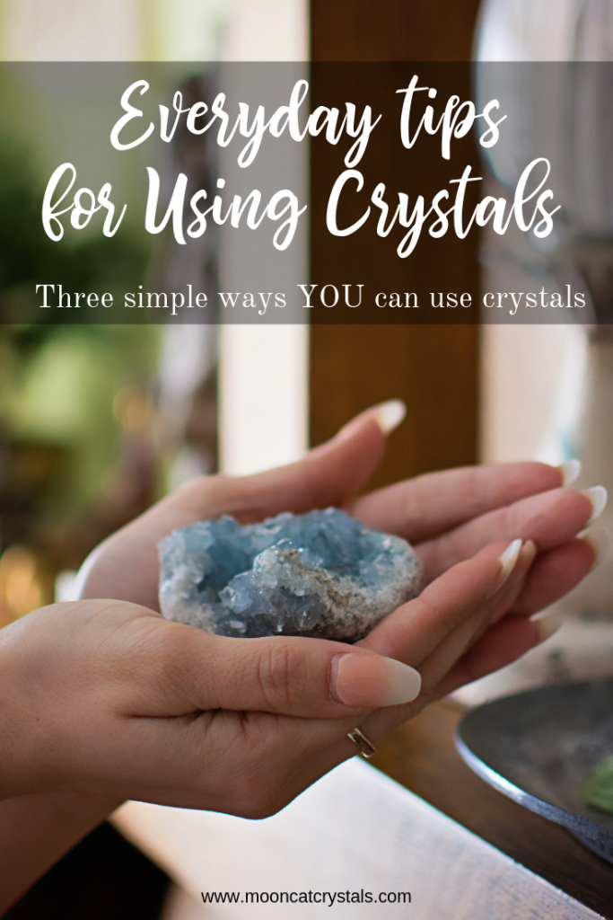 Everyday uses for crystals - pin