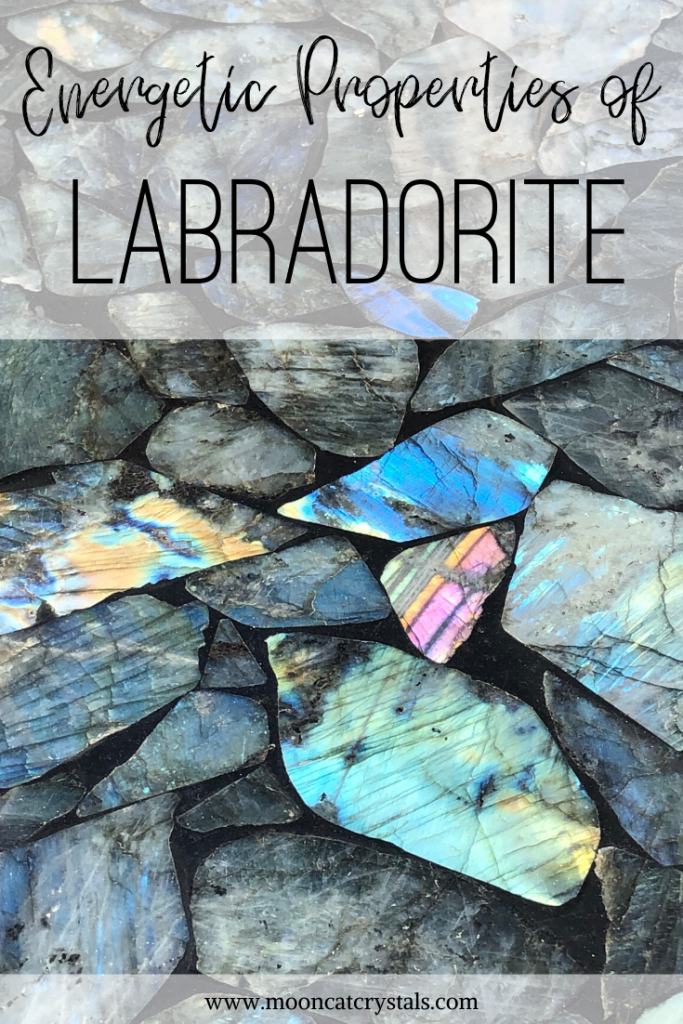 Energetic Properties of Labradorite