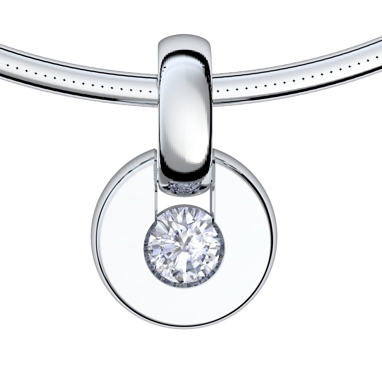 Weissgold-Bergkristall-Kette-Schlange-TS10SSPBKFA1_0