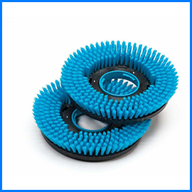 Scrubber dryer brushes