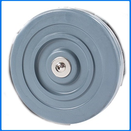 Floor buffer wheels