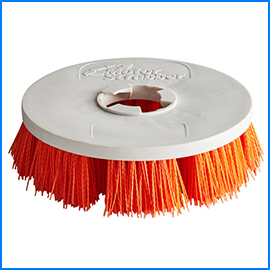 Portable scrubber brush