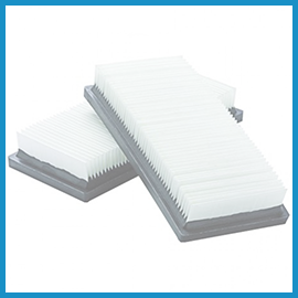 Floor sweeper filters