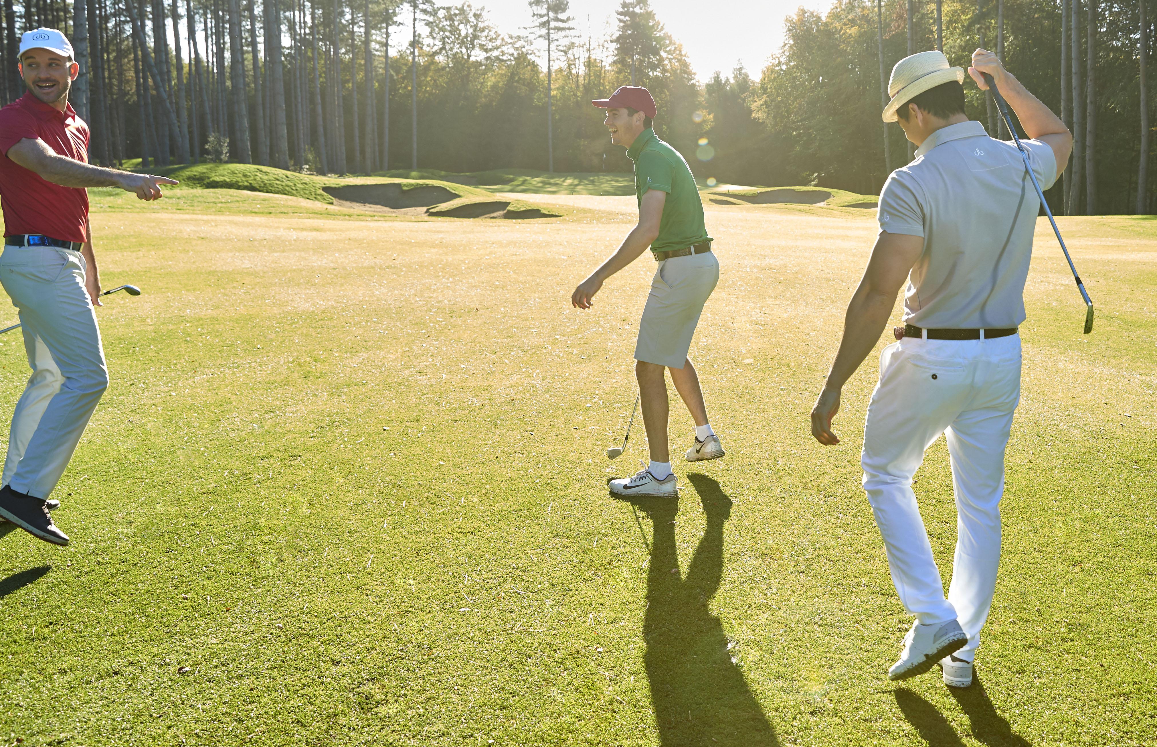 Walk the golf course