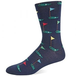 Golf Crew Sock from Hot Sox