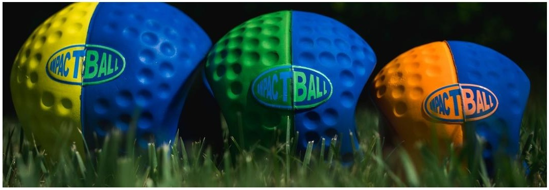 Golf Impact Ball Three