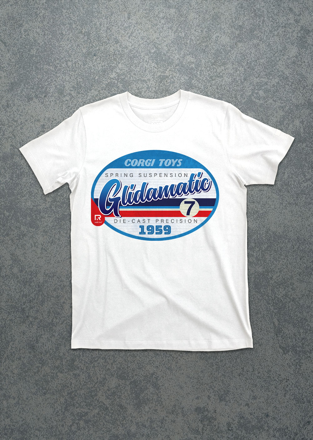 Old_Flames-Glidamatic-white-tee