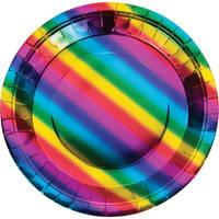rainbow foil party
