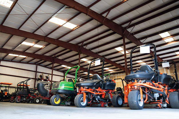 preowned mowers
