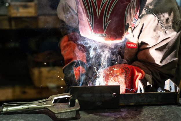 welding closeup