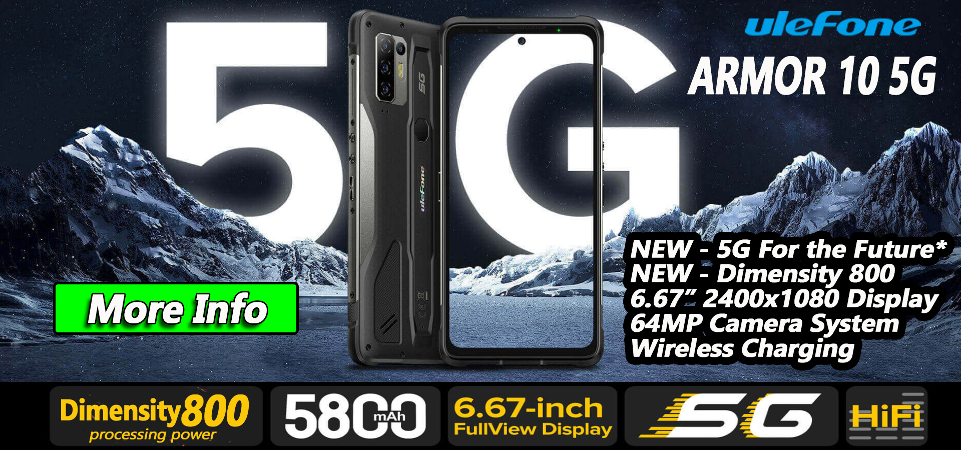 Ulefone Armor 10 5G - In Stock now